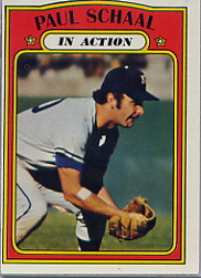 1972 Topps Baseball Cards      178     Paul Schaal IA